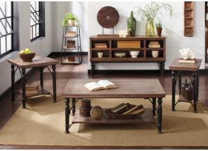 Tripton Occasional Table Set (Cocktail & 2 Ends)