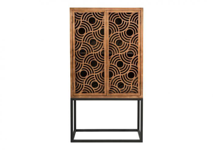 A-8057 Wooden 2 Door Cabinet,In Store Products