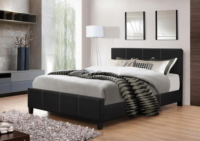 B630 Black King Bed,In Store Products