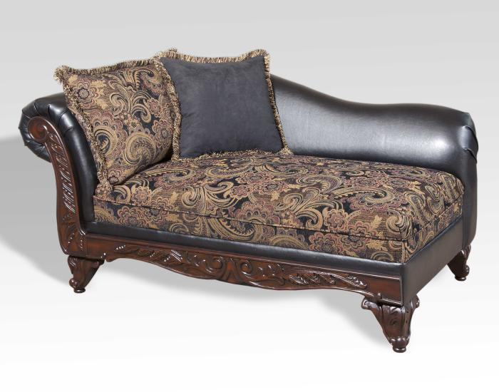 Silas Ebony - Chaise,Store Product