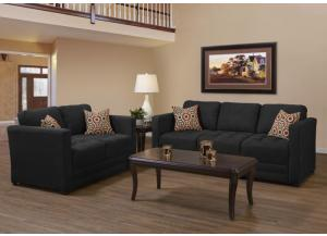 Sienna Ebony Loveseat