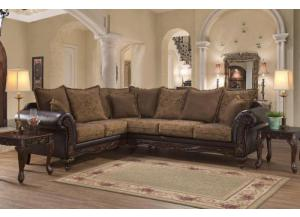 Silas Rasin Sectional w/Reversible Cushions