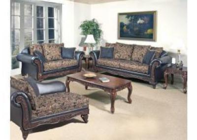 Image for Serta 7685 Silas Ebony 3 Piece Occasional Table Set (Coffee Table & 2 End)