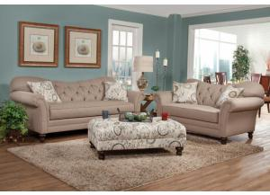 8750 Abington Safari Loveseat