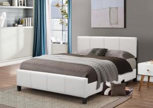 B640 White King Bed