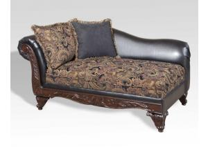 Image for Silas Ebony - Chaise