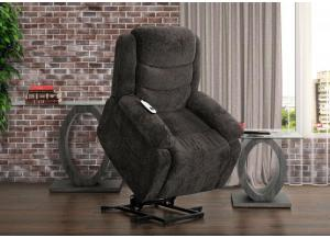 Charcoal Ranier Power Lift Recliner