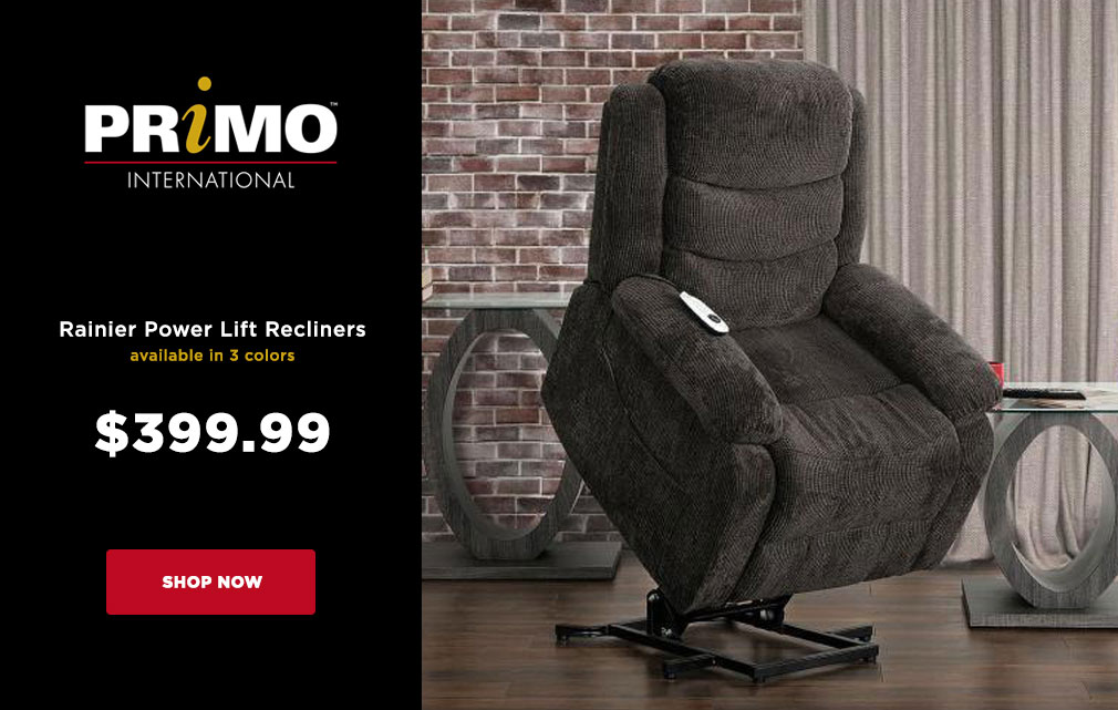 Primo Power Lift Recliners $399