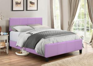 B670 Lilac Queen Bed