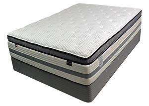 Madison House Ultima Pillow Top Full Mattress Set