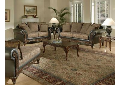 7685 Silas Raisin - Sofa and Loveseat
