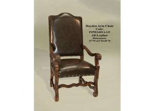 Hayden Leather Arm Chair