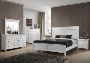 Liam White 5-Piece Bedroom Set