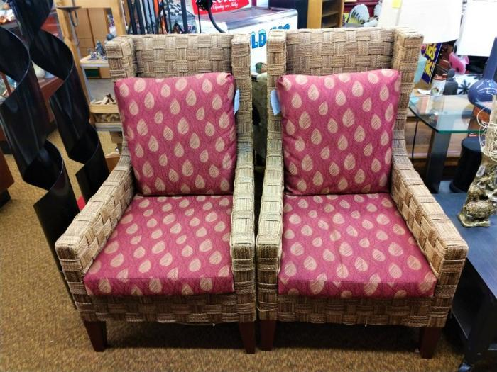 Wicker Chairs ,Pre-Owned Furniture