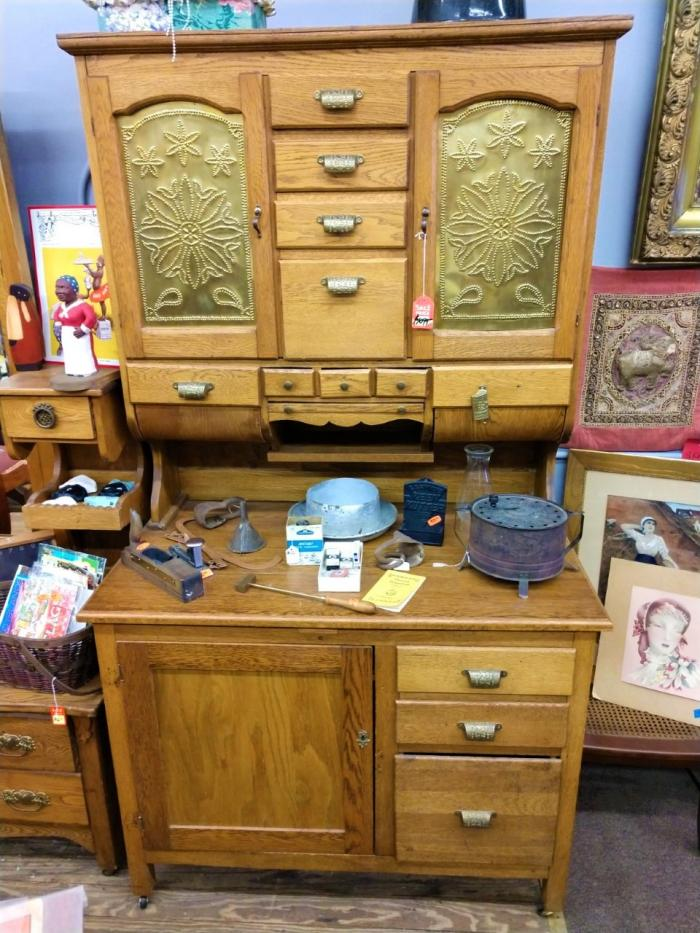 Antique Hoosier Cabinet,Pre-Owned Furniture