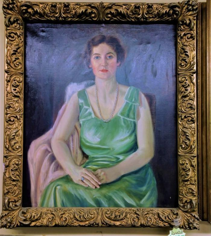 Oil Painting-Verhaeren,Pre-Owned Furniture