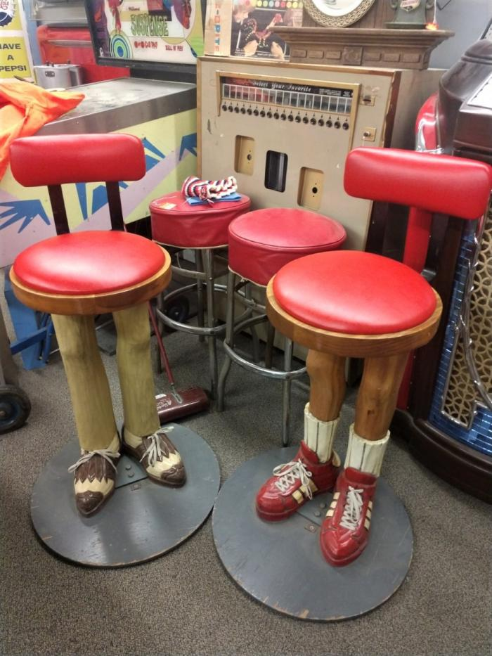 Hand Carved Bar Stools,Pre-Owned Furniture