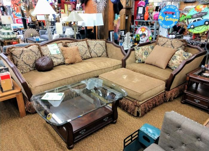 Sofa, Chair & Ottoman,Pre-Owned Furniture