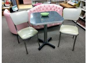 Image for Retro Table & 2 Chairs