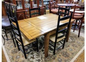 Image for Extendable Table & 4 Chairs