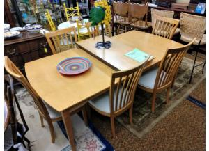 Dinette Table w/ 6 chairs