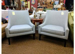 Image for Retro Style Arm Chairs