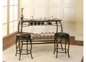 Bar Table and 2 Stools $199.00