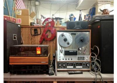 Vintage Stereo Equipment & Electronics