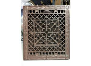 Antique Cast Iron Register Grate