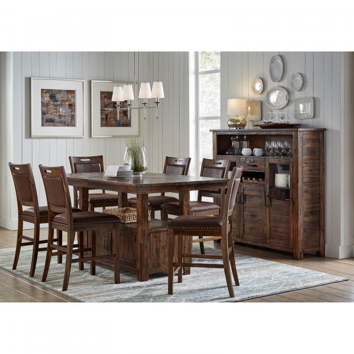 Valley 7 PC Dining Set,ACP