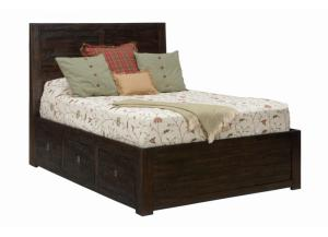Grove King Storage Bed