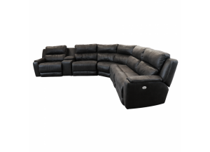 Daze Power Headrest Reclining Sectional
