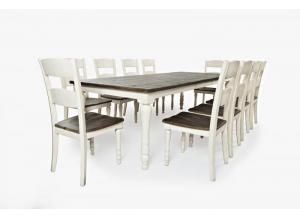 Madison County Table & 10 Chairs