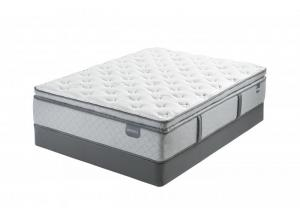 Glenfur Super PillowTop Queen Mattress Set