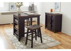 Madison County 3 pc Counter Pub Set