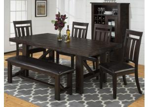 Grove 6 pc Dining Set