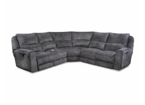 Producer Manual Reclining Sectional