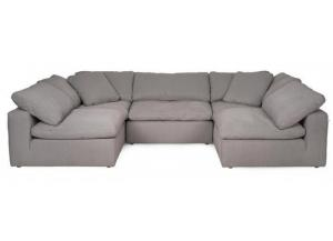 Fluffy Sectional