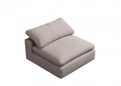 Image for Fluffy Armless Chair