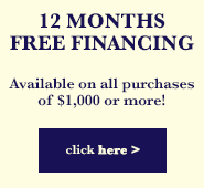 12 Months Free Financing