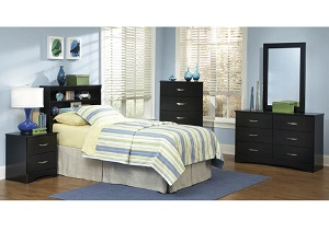 Jacob Twin Bookcase Headboard
