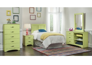Lemon Lime Nightstand