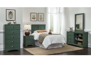 Olive 5 Drawer Chest