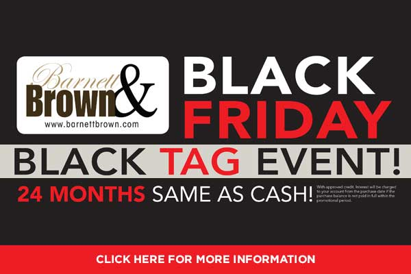 Black Friday Black Tag Event