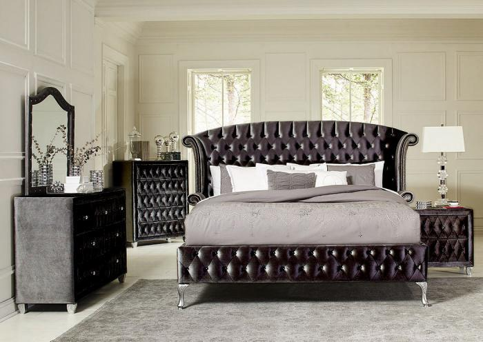 Black Queen Bed w/Dresser and Mirror,Best buy furniture