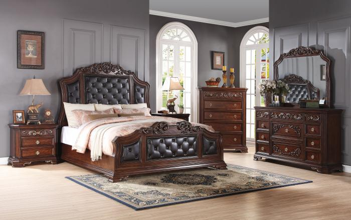 Claudia complete 8pc queen package ,Best buy furniture