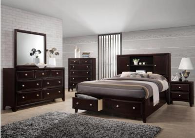 Image for 6498 Queen bed, dresser & mirror