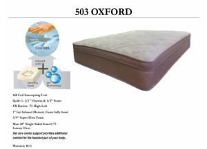503 oxford king set