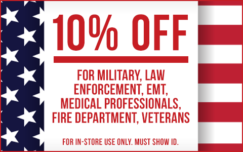 10% off military