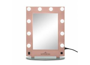 Hollywood Glamour Vanity Mirror - Rose Gold
